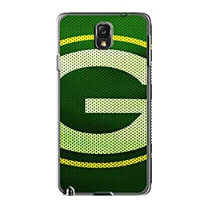 High Quality Phone Case For Samsung Galaxy Note 3 With Custom Nice Green Bay Packers Skin AshleySimms