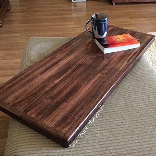 Incredible Amazon Com Ottoman Tray Wood Butcher Block Design Download Free Architecture Designs Xerocsunscenecom