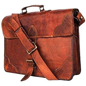 Leather Messenger Bags for Men Women Mens Briefcase Laptop Bag Best  Computer Shoulder Satchel School Distressed 9c7143fa377fa