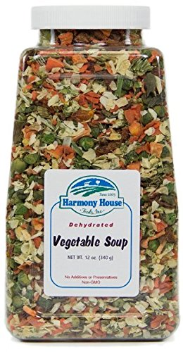 Harmony House Foods Soup Mix, Dried Vegetable