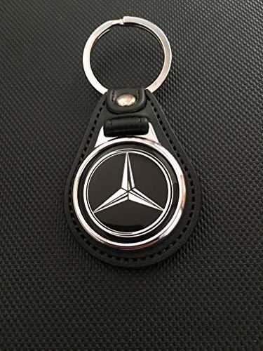Mercedes Benz piel llavero: Amazon.es: Coche y moto