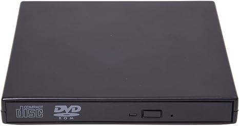 SODIAL (R) USB Caja externa para 12.7mm grabadora de CD / DVD Rom ...