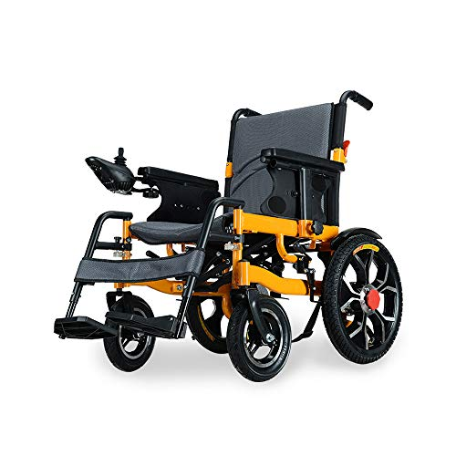 Amazon.com: ZJR silla de ruedas para ancianos discapacitados ...