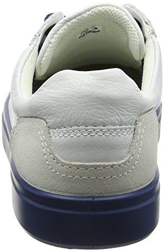 ECCO Mens Kyle Street Fashion Sneaker White/Shadow White XazWvQg