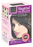 Vegetal Bio Colour - Soft Black 50gm, Pack of 3