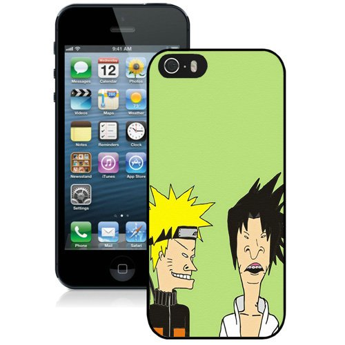 Coque,Fashion Coque iphone 5S Beavis And Butt Head Noir Screen Cover Case Cover Fashion and Hot Sale Design
