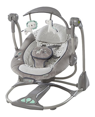 Ingenuity ConvertMe Swing-2-Seat, Orson/Grey 2in 1 Convertible High Chair