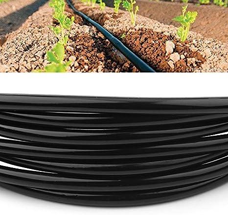 Haofy Tubo de riego Manguera de riego de PVC de 5 m//10 m//20 m Tubo de Manguera 4//7 mm Sistema de riego por microgoteo para jard/ín Invernadero Patio c/ésped 10 Millones