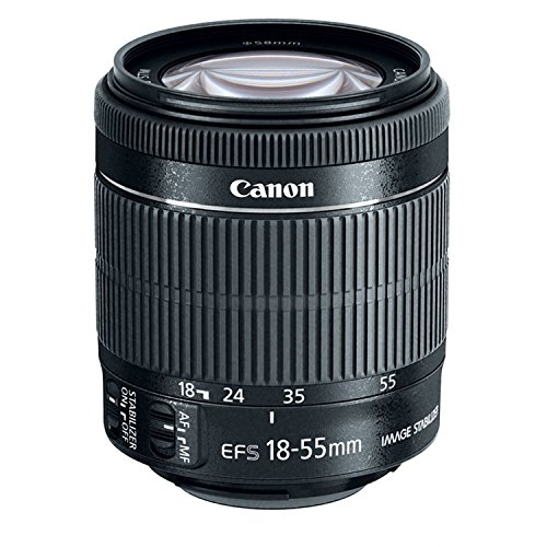 Canon EF-S 18-55mm f/3.5-5.6 IS STM Zoom Lens (Bulk Packaging) (Best Lens For Canon T3i)