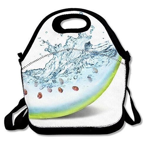 Qualit Wonder Art Water Watermelon Neoprene Lunch Bag Tote Handbag With Adjustable Crossbody Strap Seattle Mariners Lunch