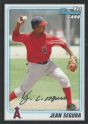 2010 Bowman Prospects Wrapper Redemption Black Parallel - Jean Segura Baseball Rookie Card RC ()