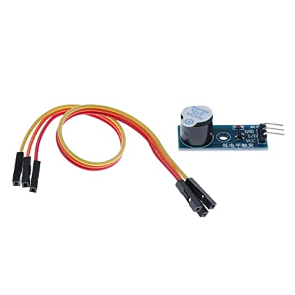Sharplace Kit Zumbador Activo Sensor de Módulo de Alarma ...