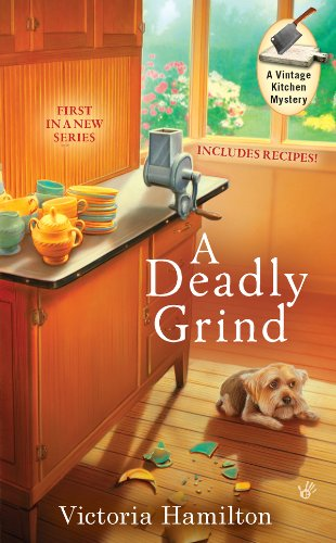 Kitchen Amish Cabinets (A Deadly Grind (A Vintage Kitchen Mystery Book 1))