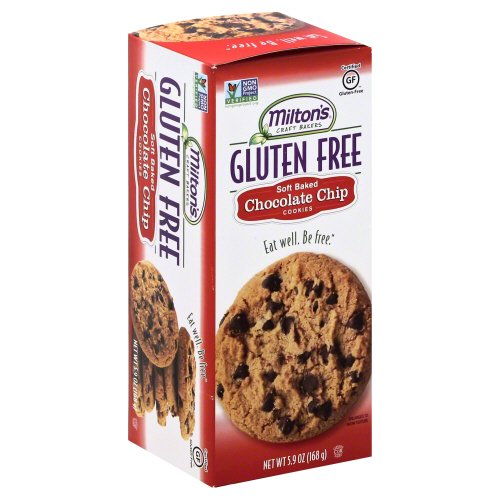 UPC 606541703051, Milton's Cookie Gluten Free Chocolate Chip 5.9 Oz (Pack Of 8)