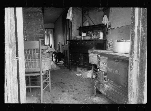 Photo  Slum African American Kitchen Interiors Housing Washington Dc Carl Mydans 1935