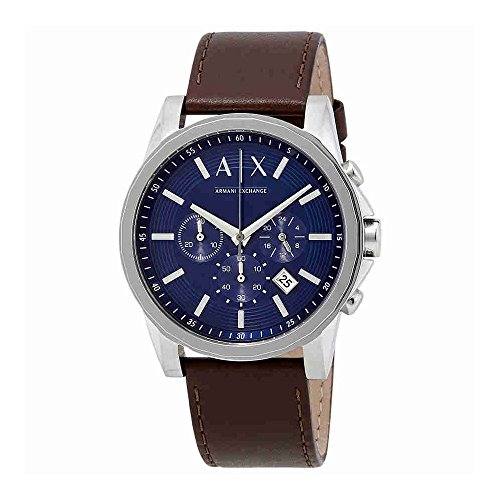 Armani Exchange Men's AX2501 Brown Leather Watch -