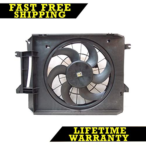 - RADIATOR CONDENSER COOLING FAN FOR NISSAN FITS VILLAGER QUEST NI3115120