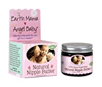 Earth Mama Angel Baby Natural Nipple Butter, 2-Ounce Jars (Pack of 3)
