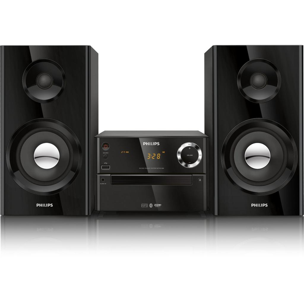 Amazon Com Philips Btm2180 37 Micro Music System Black