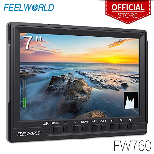 FEELWORLD FW760 7 Inch Camera Field Monitor 4K HDMI DSLR Vid