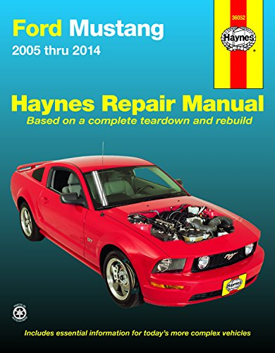 - Ford Mustang 2005 thru 2014 (Haynes Repair Manual)