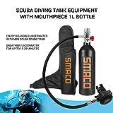 SMACO Scuba Tank Dive Cylinder Mini Scuba Tank