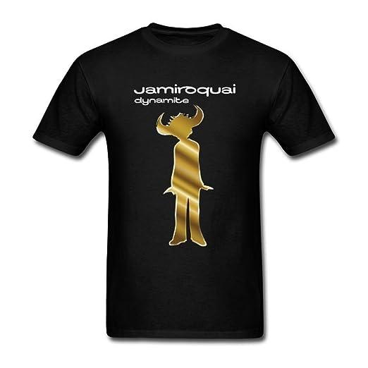 4b97939505fb0 Huserd Men's Jamiroquai Logo T-Shirt: Amazon.co.uk: Clothing