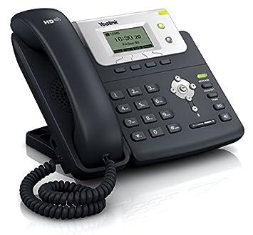 Yealink TE Teléfono VOIP color negro y plata