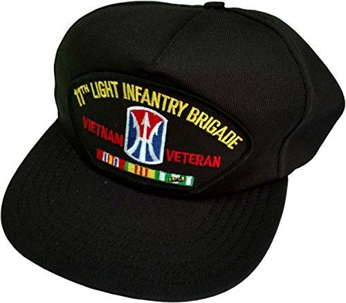 (HMC US Army 11th Light Infantry Brigade Vietnam Veteran w/Ribbons Ball)