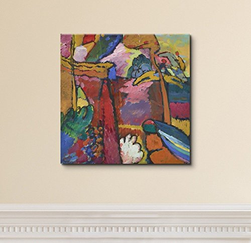 Study for Improvisation V by Wassily Kandinsky Print Famous Painting Reproduction