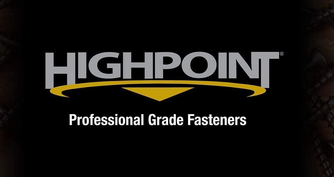 100pc 10 x 3 HighPoint Cabinet Installation Screws Zinc Washer Head