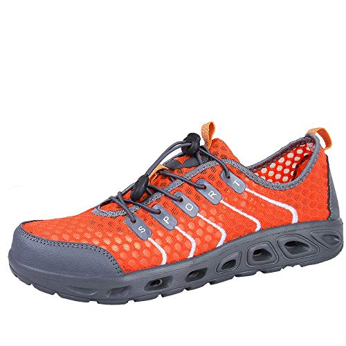 wholesale XUANOU Outdoor Breathable Mesh Women Anti-Slip Shoes Sports Shoes Casual Shoes Creek for cheap