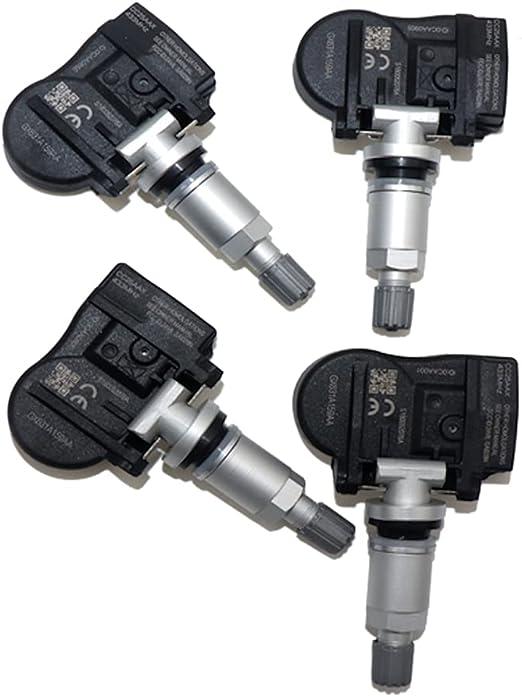 4-Pack IM2736 tpms Sensor LR070840 LR066378 Compatible for Select Models of Jaguar Land Rover C2D47173