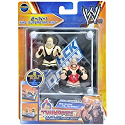 WWE Big Show & Ryback Thumbpers 2 Pack with RingSmackDown