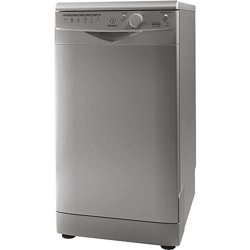 Best Selling. Indesit DSR15B1S Freestanding Dishwasher Slimline 10 Place  Setting Silver