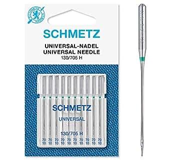 10 agujas Schmetz con una dureza de 70 H: Amazon.es: Grandes ...