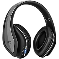 Take Sentey Bluetooth Headphones Headset with Microphone Wireless Improved Audio Driver Audiophile Hard Carrying Case... lowestprice