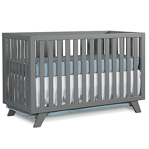 Child Craft™ SOHO 4-in-1 Convertible Crib in Grey by Child CraftTM