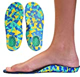 Camo Comfort Childrens Insoles for Kids with Flat
