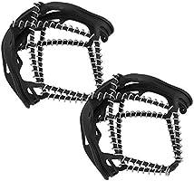 Cubierta de los Zapatos del Hielo de los grampones para al Aire Libre Bnineteenteam 1 par de resbalones Antideslizantes de la Garra del Resorte
