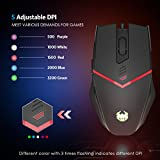 AMIR-Gaming-Mouse-USB-Wired-Ergonomic-Optical-Gaming-mice-Adjustable-DPI-500-3200-8-Adjustable-Weights-Programable-Driver-6-Programmable-Buttons-5-Custom-Colors-in-3-Lighting-Modes
