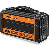 Rockpals 250-Watt Portable Generator Rec...