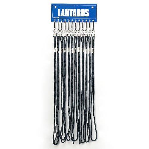 Extra Heavy Lanyard, Black
