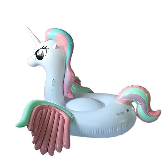 YYBFG Juguete Hinchable Flotante Gigante del Unicornio Piscina ...