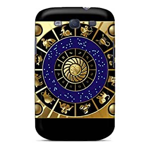 Shock Absorbent Hard Phone Cases For Samsung Galaxy S3 (gdW4380amVY) Provide Private Custom Stylish Zodiac Signs Pictures