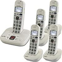 Clarity 59474.000 D712 + 4 D702HS (CLARITY-D712C4) Category: Hearing Impaired Products