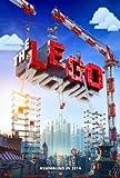 "THE LEGO MOVIE - 11.5""x17"" Original Promo Movie Poster 2014"