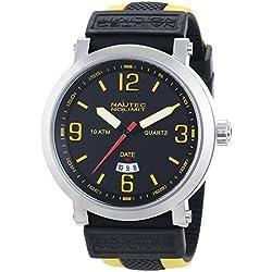 Nautec No Limit Speed SE QZ3/RBYLSTSTBK-YL - Men's Watch, Strap caucciÌ_ multiColor