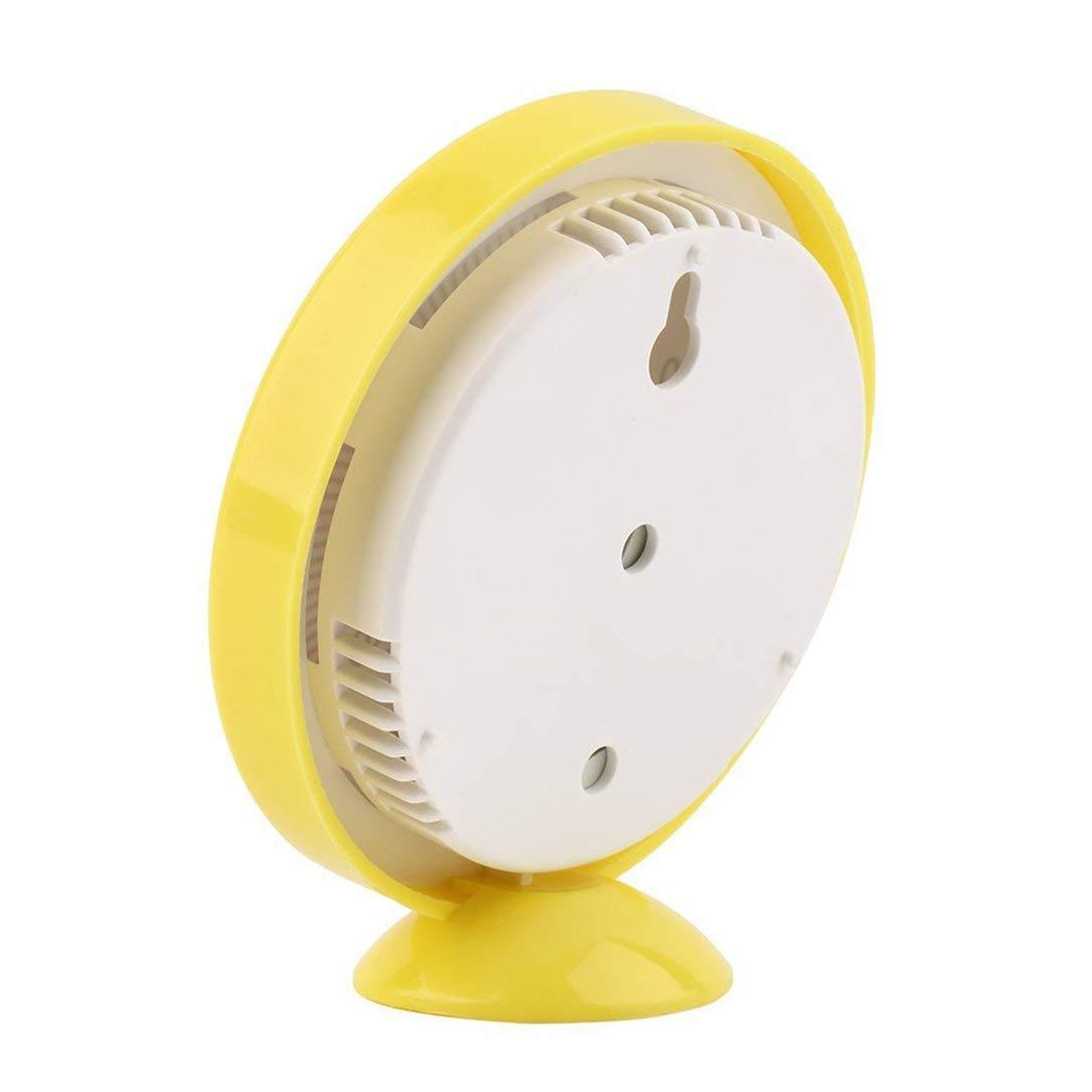Mini Giallo Interni Esterni Meccanica del termometro Termometro di umidit/à di Temperatura Meter Meteo Monitor Nuovo