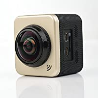 Anywalk Cube 360 Action Video Camera WiFi H.264 360 Degrees Panorama Camera 360x190 Large Panoramic 360 Lens Action Camera Mini Car DVR